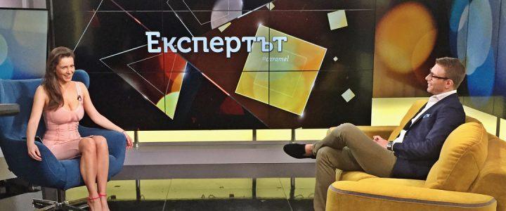 """Интервю на д-р Мартин Генов в предаването """"Карамел"""" с Гери Дончева по BIT, част 1"""